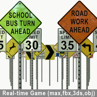 max real-time road sign