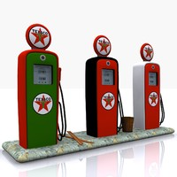 gas pump texaco max