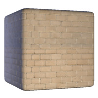 Clean Beige Bricks
