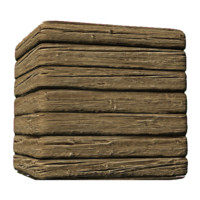Clean & Rough Wood Siding