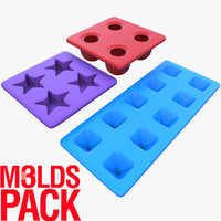 molds ice pack 3d model