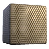 Clean White Hexagonal Tile