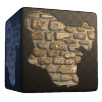 Concrete Brick Damage