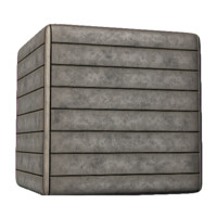 Concrete Horizontal Plated