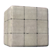 Concrete Square Blocks