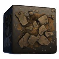 Concrete and Dirt Rubble Pile