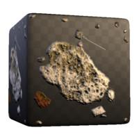 Concrete and Rock Debris