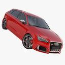 Audi RS3 3D models