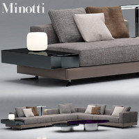 3d sofa minotti model
