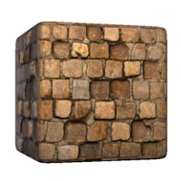 Square Brick Paving Stones