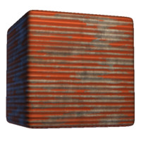 Painted Corrugated Steel C