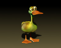 funny duck obj