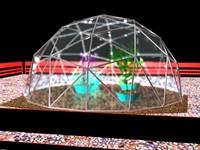 green house 3d model
