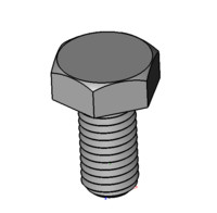3d 3ds hex screw