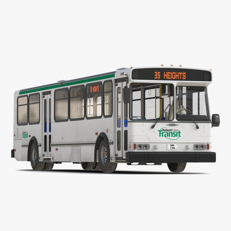 Orion V Transit Bus Durham Transit 3d model 01.jpg