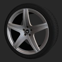 vorsteiner vs-170 wheel tire 3d model