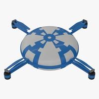 3d obj quadrocopter quads