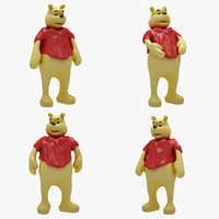 Winnie The Pooh (3 POSE)
