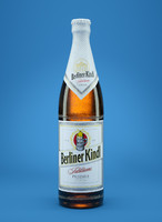 berliner kindl beer bottle c4d