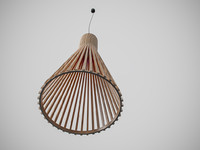 3d finned lamp