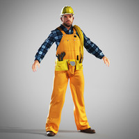 3d worker builder