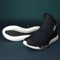 3d model adidas y3 qasa