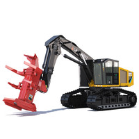 3d tracked feller buncher 551