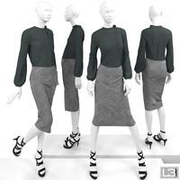 Shop window Woman Mannequin 109