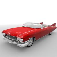 3d cadillac eldorado 1959