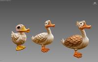 3d model duck