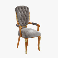 signorini coco carver chair 3d model