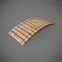 3d decorative bridge model