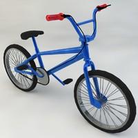 kids bike 3d max