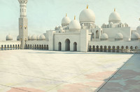 sheikh zayed mosque 3d 3ds