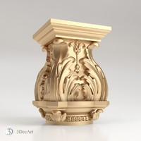 decorative capitals cnc max