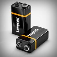 3d model 9v block battery