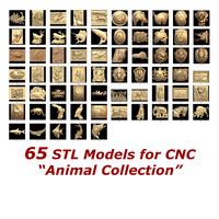 3d 65 stl cnc model