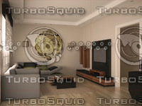 furniture design set 3d model