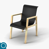 3d model alvar aalto 403 chair designer