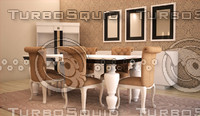 furniture avantgarde chair 3d 3ds
