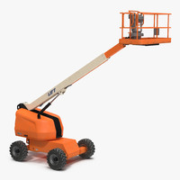 telescopic boom lift generic 3d max