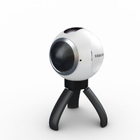 3d samsung gear 360 camera model