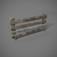 wooden 3d obj