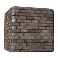 Stylized Brick Road Dirty