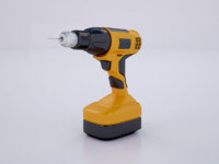 3d model driller industrial tool