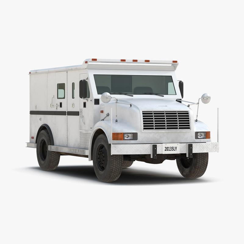Bank Armored Car obj 3d model 01.jpg