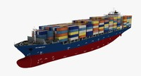HS Debussy Container Ship