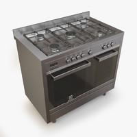 3d gas range electrolux ekk066aaox model
