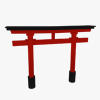 japanese torii gate 3ds