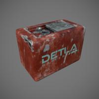 3d model of battery